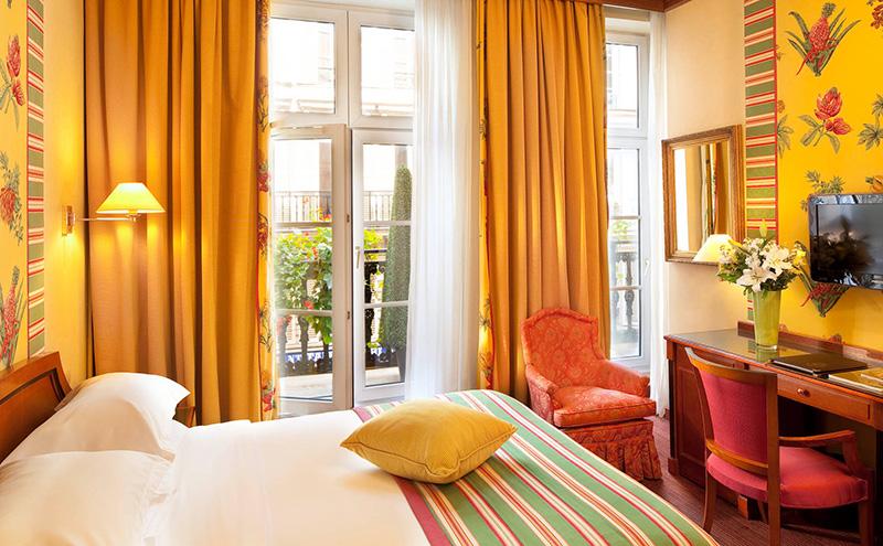 Les chambres hotel horset opera site officiel h tel for Hotel paris chambre 4 personnes