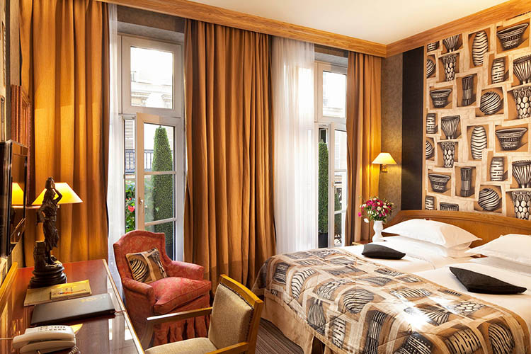 Hotel Horset Opera Paris Official Site 4 Star Hotel