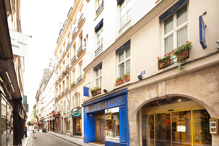H tel la perle paris h tel de charme saint germain des for Paris hotel de charme